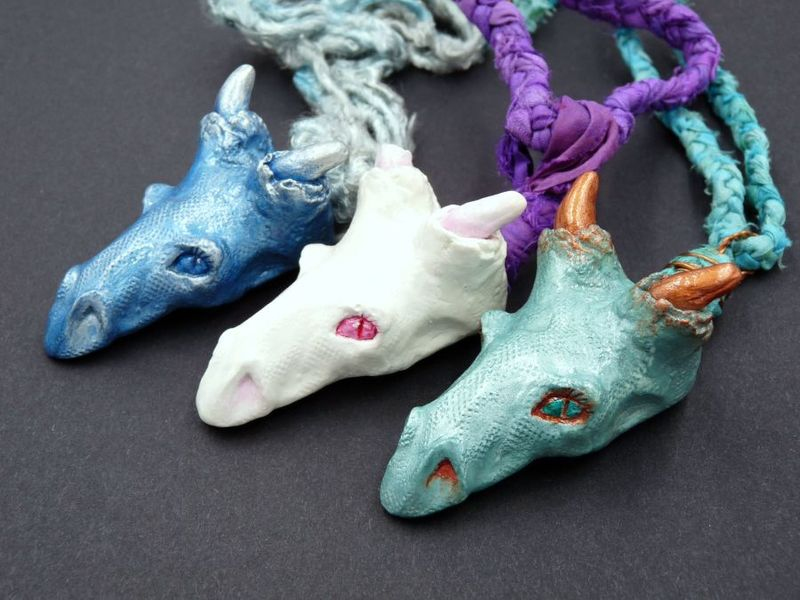 Limited Edition Dragon necklaces - product image