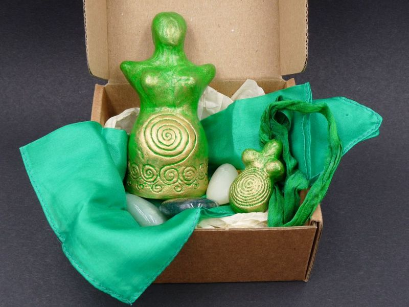 Goddess Gift Set - green - product image