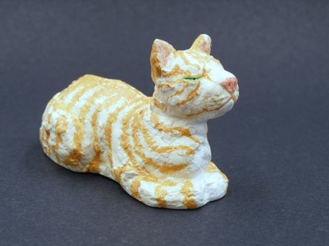 Sleepy,Cat,,several,colours,available,cat,black cat,cat statue,cat figurine,black cat statue,ginger cat figurine,ginger cat,ginger cat statue