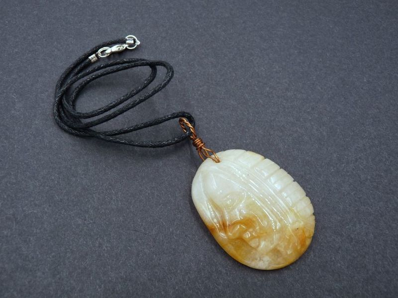 Yellow Aventurine Spirit Guide necklace - product image