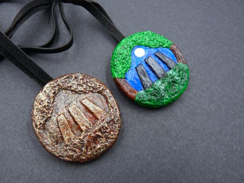 Awen Forest necklace - product image