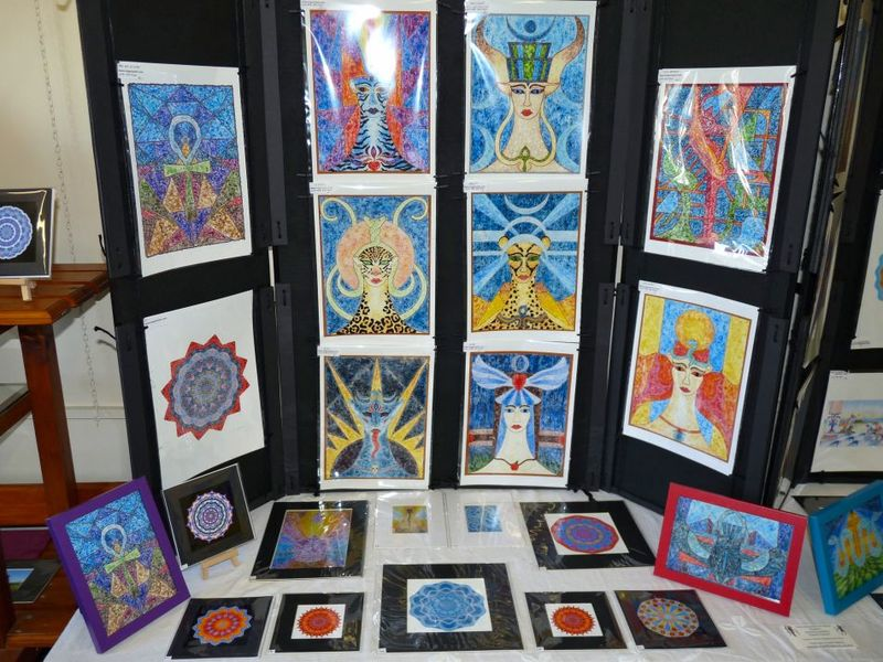 Complete set of Goddess prints - product image