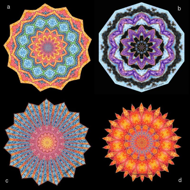 Mandala greeting cards - product image
