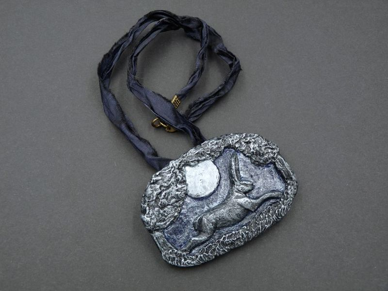 Moonlight Hare necklace - product image