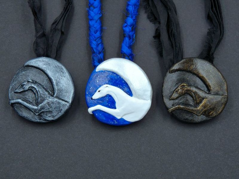 Moonlight Sighthound necklace - product image
