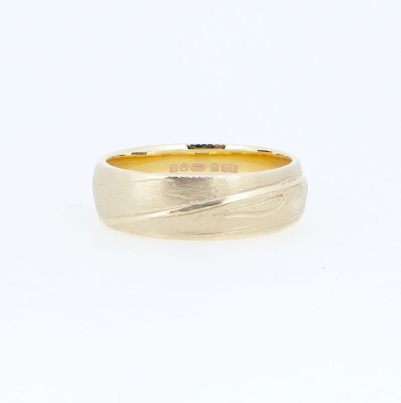 Single heron weave ring - product image