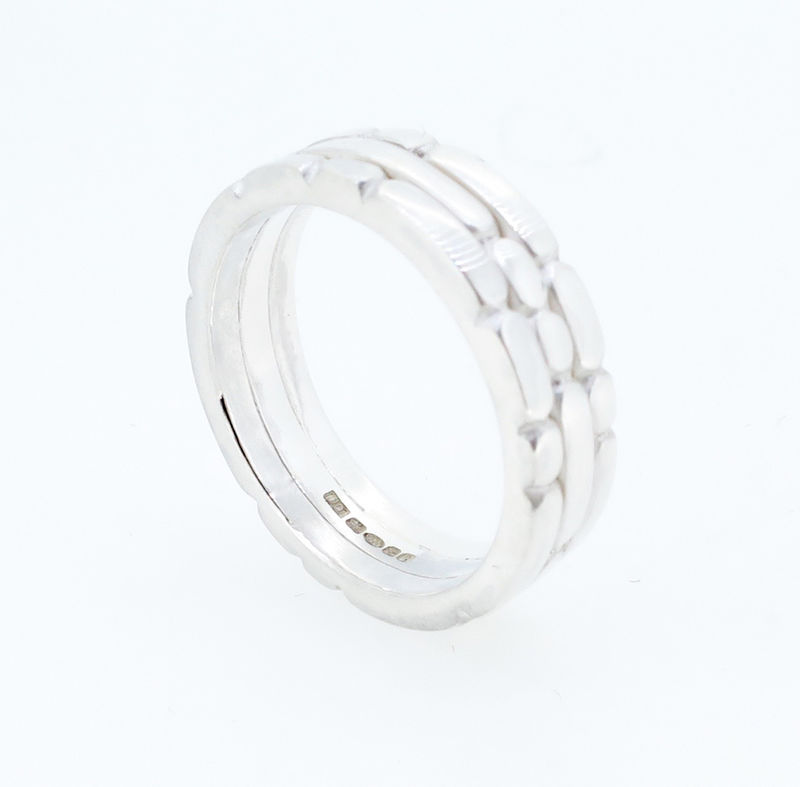 Sculpt triple ring - product images  of