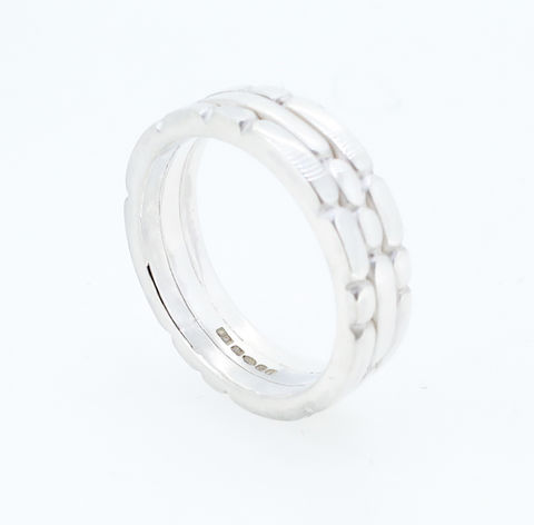 Sculpt,triple,ring,sculpt ring, silver sculpt ring, triple sculpt ring