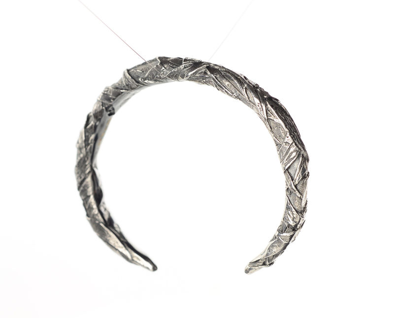 Woven textured bangle - product images  of