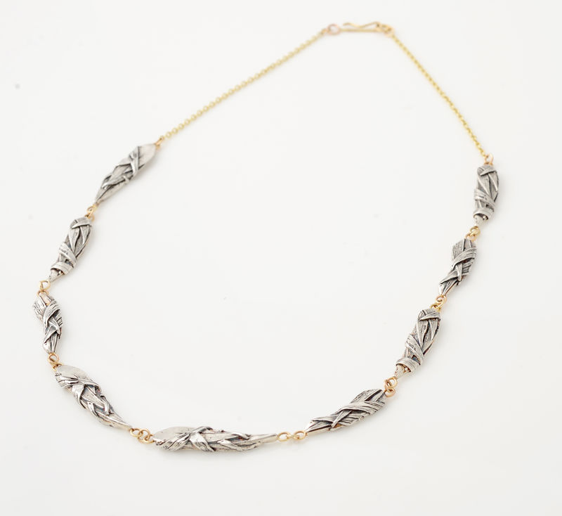 Woven neckpiece - product images  of