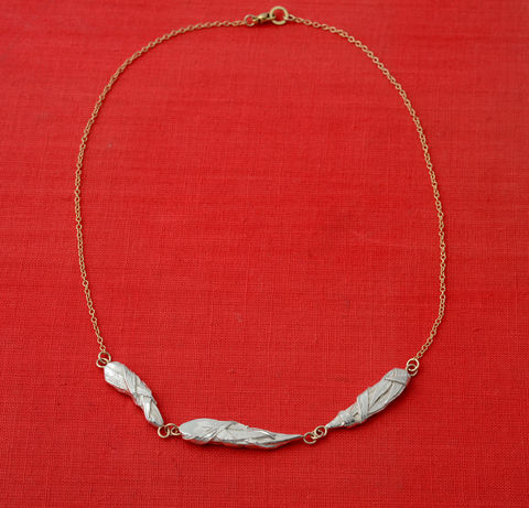 Woven,3,neckpiece,Woven neckpiece, woven necklace, beak necklace, bird necklace, heron necklace, bird jewellery