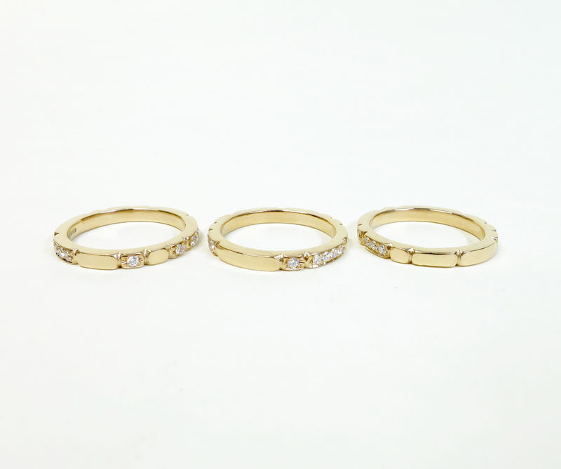 Sculpt stacking ring - product images  of
