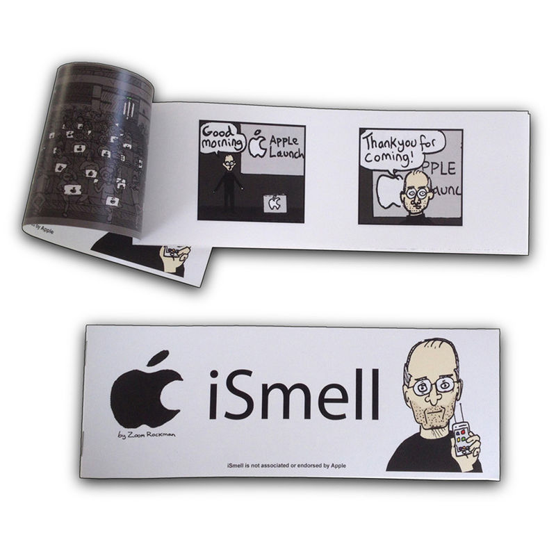 Apple iSmell - mini graphic novel - product image