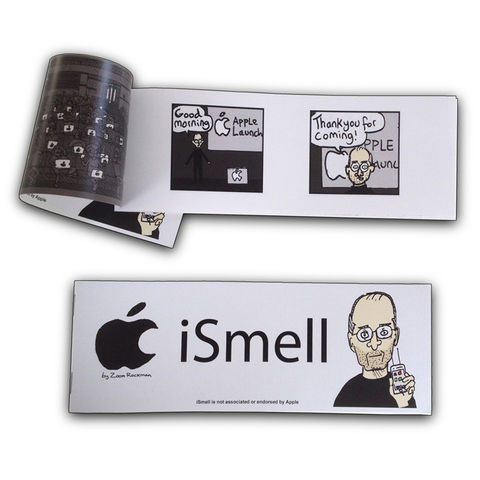 Apple,iSmell,-,mini,graphic,novel, iSmell, The Zoom, Zoom Rockman