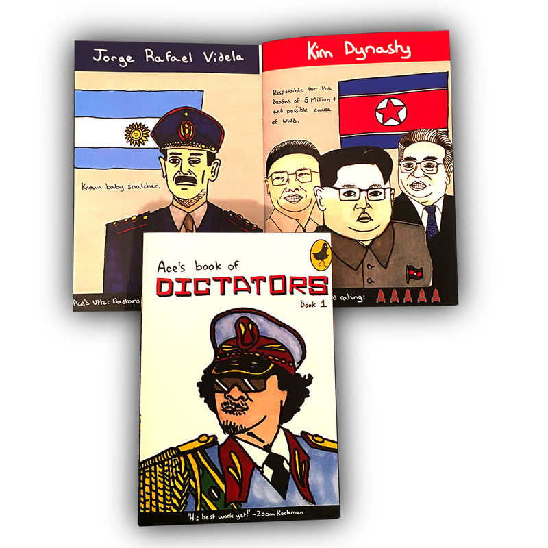 Ace's Book of Dictators - product image