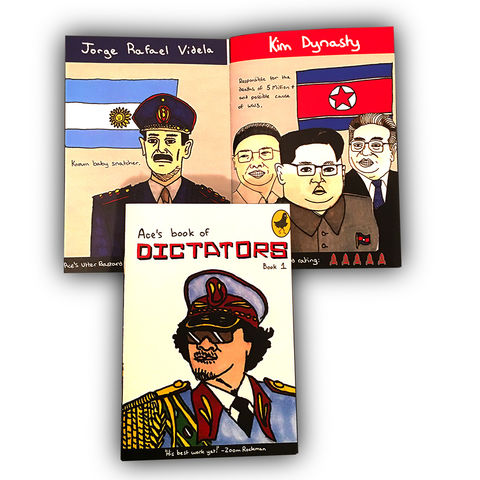 Ace's,Book,of,Dictators, Ace Rockman
