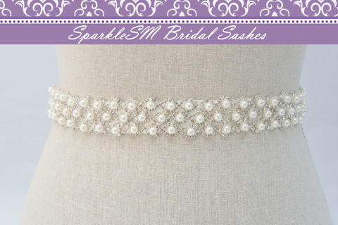 Pearl,Bridal,Sash,,Belt,,Rhinestone,Wedding,Dress,Crystal,SparkleSM,,Edith,Weddings,Accessories,pearl_bridal_sash,bridal_belt_pearl,wedding_dress_sash,wedding_belt,bridal_dress_sash,bridal_sash_belts,rhinestone_sash,crystal_pearl_sash,crystal_pearl_belt,SparkleSM_Bridal,beaded_wedding_belt,wedding_sash,bridesmaids_sashes