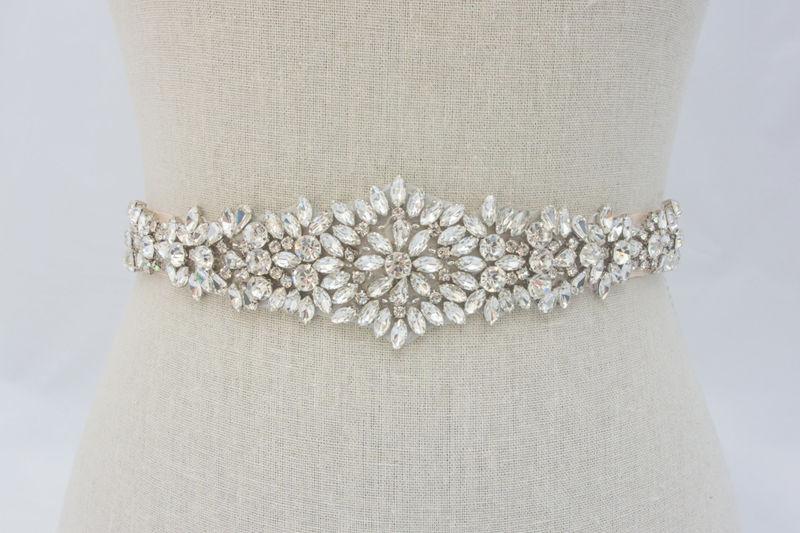 Wedding Dress Belts.Rhinestone Applique Crystal Wedding Applique Bridal Sash Bridal Belt Wedding Dress Sash Bridal Dress Sash Sparklesm Bridal Calista