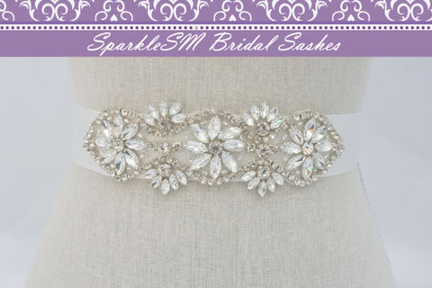 Rhinestone,Bridal,Sash,,Beaded,Belt,,Crystal,Wedding,Dress,Applique,,SparkleSM,Bridal,,Delaney,Weddings,Accessories,bridal_sash,bridal_belt,wedding_dress_sash,wedding_belt,wedding_sash,rhinestone_sash,crystal_belt,crystal_sash,bridal_dress_sashes,sparklesm_bridal,beaded_bridal_belt,bridesmaids_sash,rhinestone_applique