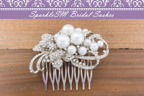 Rhinestone,Pearl,Comb,,Bridal,Wedding,Clip,,Head,Piece,,Crystal,SparkleSM,Weddings,Accessories,rhinestone_comb,crystal_comb,pearl_comb,bridal_comb,wedding_comb,sparklesm,rhinestone_hair_comb,pearl_hair_comb,wedding_hairpiece,bridal_hairpiece,beaded_comb,wedding_hair_piece,hair_accessory