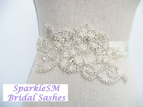 Bridal,Sash,,Belt,,Rhinestone,Applique,,Crystal,Flower,SparkleSM,Sashes,,Valentina,Weddings,Accessories,bridal_sash,bridal_belt,wedding_sash,wedding_belt,wedding_dress_sash,rhinestone_applique,sparklesm,pearl_bridal_sash,bridal_dress_sash,bridal_sash_belts,rhinestone_sash,pearl_bridal_belt,crystal_bridal_belt
