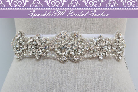 Rhinestone,Crystal,Bridal,Belt,Sash,,Wedding,Sash,Belt,,Accessories,,SparkleSM,Bridal,,Bridget,Weddings,Accessories,bridal_sash,bridal_dress_sash,beaded_bridal_sash,crystal_bridal_belt,wedding_belts,bridal_belt,bridal_belts,sparklesm,sparklesm_bridal,wedding_applique,bridal_applique,pearl_bridal_sash,rhinestone_sash