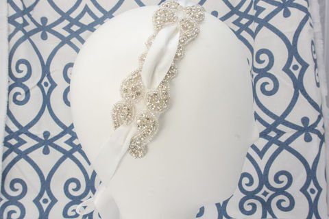 Rhinestone,Headband,,Crystal,Bridal,Beaded,Ribbon,Hair,Piece,,Head,Band,,SparkleSM,Sashes,-,Chloe,Weddings,Accessories,bridal_headband,bridal_head_band,wedding_headband,crystal_hair_comb,crystal_headband,rhinestone_headband,wedding_veil,reception_veil,wedding_accessory,sparklesm,sparklesm_bridal,rhinestone_hairpiece,crystal_comb