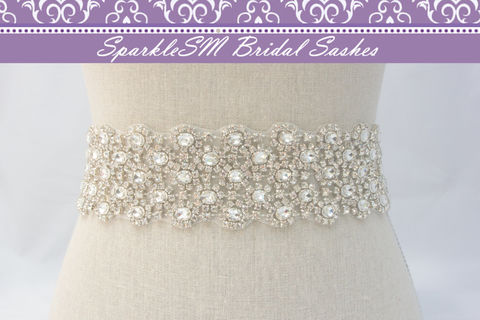 Wide,Rhinestone,Crystal,Bridal,Belt,Sash,,Wedding,Sash,Belt,,Accessories,,SparkleSM,Bridal,,Julia,Weddings,Accessories,bridal_sash,bridal_belt,wedding_sash,wedding_belt,crystal_bridal_sash,wedding_dress_sashes,ivory_bridal_sash,beaded_bridal_belt,couture_bridal_sash,wide_bridal_sash,rhinestone_sash,bridal_dress_sash,bridal_sash_belt