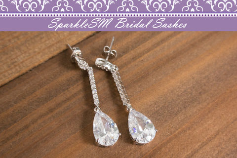 Rhinestone,Crystal,Drop,Earrings,,Bridal,Chandelier,Bridesmaids,Gifts,,SparkleSM,,Gwen,Weddings,Jewelry,chandelier_earring,drop_earring,bridesmaids_earrings,crystal_earrings,bridal_earrings,wedding_earrings,wedding_jewelry,pear_shaped_earring,sparklesm,swarovski_earrings,swarovski_crystals,statement_earring,CZ_earrings,Cubic Zirconia