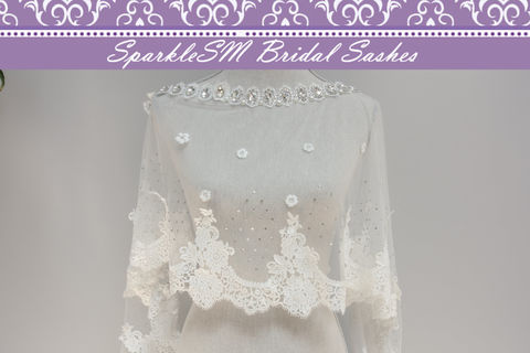Wedding,Bolero,,Cape,,Bridal,Lace,Top,,SparkleSM,Sash,,Organza,Weddings,Accessories,wedding_bolero,wedding_cape,bridal_cape,bridal_bolero,sparklesm,veil_alternative,wedding_veil,lace_cover-up,wedding_lace_top,bridal_lace_top,organza_cape,organza_shrug,bridal_cover-up,Rhinestones,Crystals