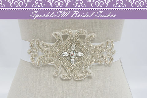 Rhinestone,Bridal,Sash,,Crystal,Beaded,Wedding,Dress,Sashes,,Belt,SparkleSM,Brooke,Weddings,Accessories,bridal_sash,bridal_belt,wedding_sashes,wedding_belts,crystal_bridal_sash,ivory_bridal_sash,crystal_bridal_belt,wedding_dress_sashes,sparklesm,rhinestone_sash,rhinestone_belt,beaded_bridal_sash,bridal_dress_sash