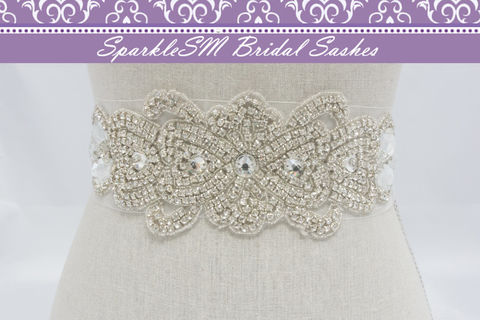 Nathalie,Bridal,Sash,Weddings,Accessories,bridal_sash,bridal_belt,wedding_sash,wedding_belt,sparklesm,rhinestone_sash,rhinestone_applique,beaded_bridal_belt,wedding_dress_sashes,ivory_bridal_sash,beaded_bridal_sash,crystal_bridal_sash,wedding_sashes