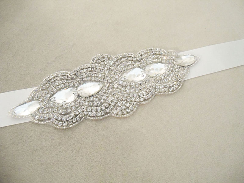 Abbey Bridal Sash - product image