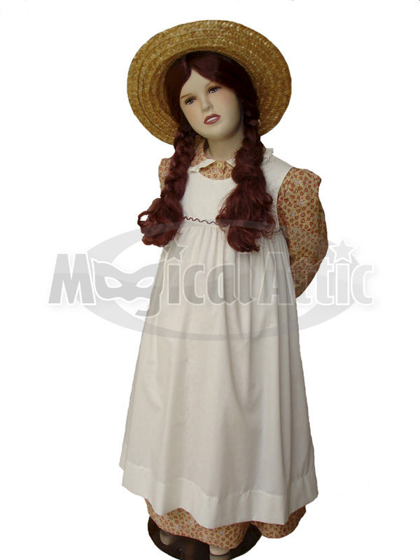Custom Boutique Anne of Green Gables Girl's Costume Dress Set - product images  of