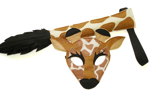 Children's,Safari,Animal,GIRAFFE,Felt,Mask,and,Tail,Set,Children, Clothing, Costume, dress up, halloween costume, christmas gift, felt mask, kids mask, animal mask, eco felt, safari birthday, jungle animal mask, giraffe mask tail, giraffe tail, giraffe mask, zoo animal mask, magicalattic