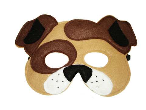 Children's,Animal,DOG,Felt,Mask,Children, Clothing, Costume, dress up, pretend play, halloween costume, christmas gift, party favor, felt mask, girls mask, kids mask, dog mask, barnyard animal mask, farm themed birthday, boys mask, magicalattic