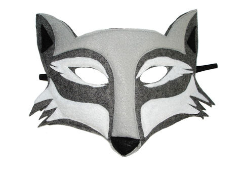 Children's,Woodland,Animal,WOLF,Felt,Mask,Children, Clothing, Costume, dress up, pretend play, halloween costume, christmas gift, party favor, felt mask, kids mask, fairy princess mask, animal mask, dog mask, kids fox mask, magicalattic, big bag wolf, three little pigs,