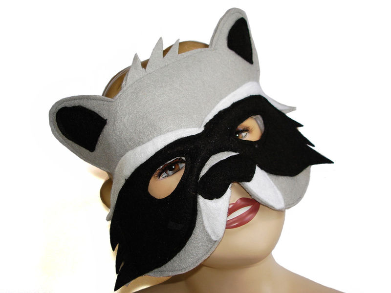 Children's Woodland Animal OWL Felt Mask - product images  of