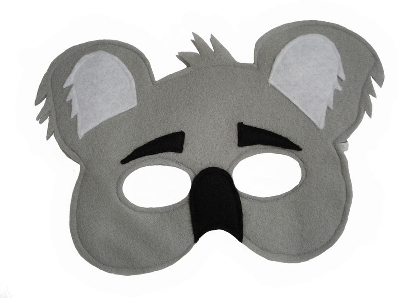 Children's 5 BEAR Felt Masks Set - product images  of