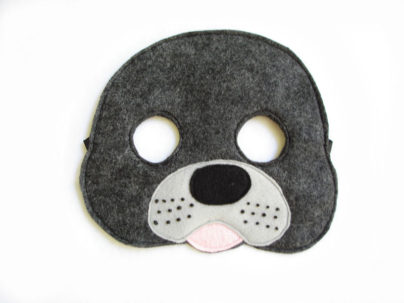 Children's PENGUIN Animal Felt Mask for Girls - product images  of