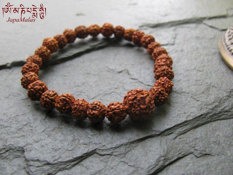 Rudraksha,Bracelet,Mala,purified,&,blessed,mala,Jewelry,Beadwork,japa_mala_bead,108_beads,hindu,buddhist_mala,meditation,yoga,prayer_beads,worry_beads,yoga_jewelry,shiva,rudraksha,tears,mantras,pure intention