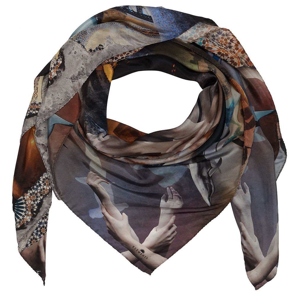 BYZANTINE SQUARE SCARF - product images  of
