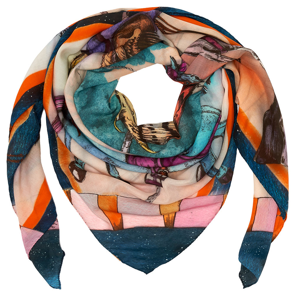Warrior Carousel Square Scarf - product images  of