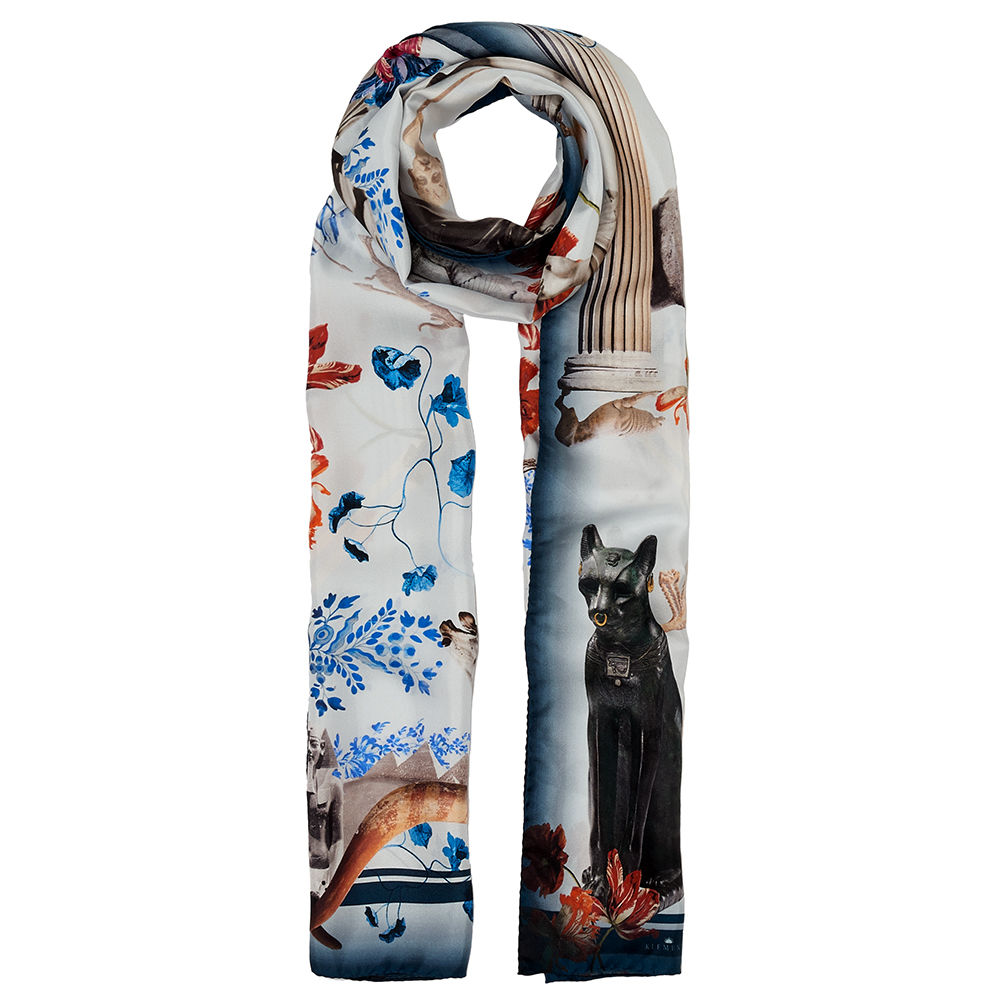 BRITISH MUSEUM X KLEMENTS 'British museum', Long Scarf. - product images  of