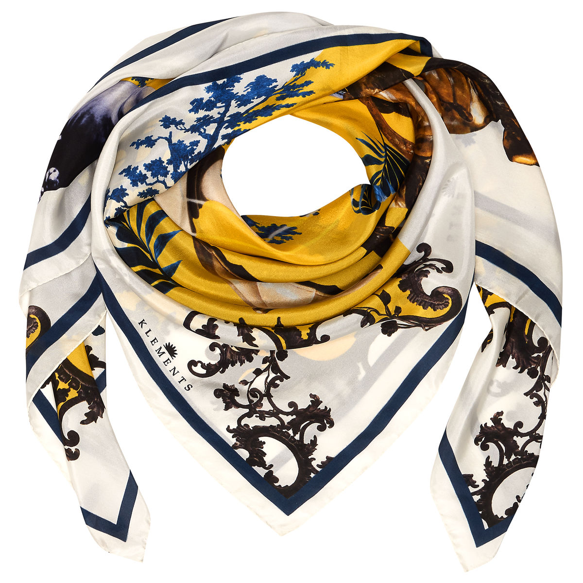 NO PLACE LIKE HOME SQUARE SCARF - product images  of