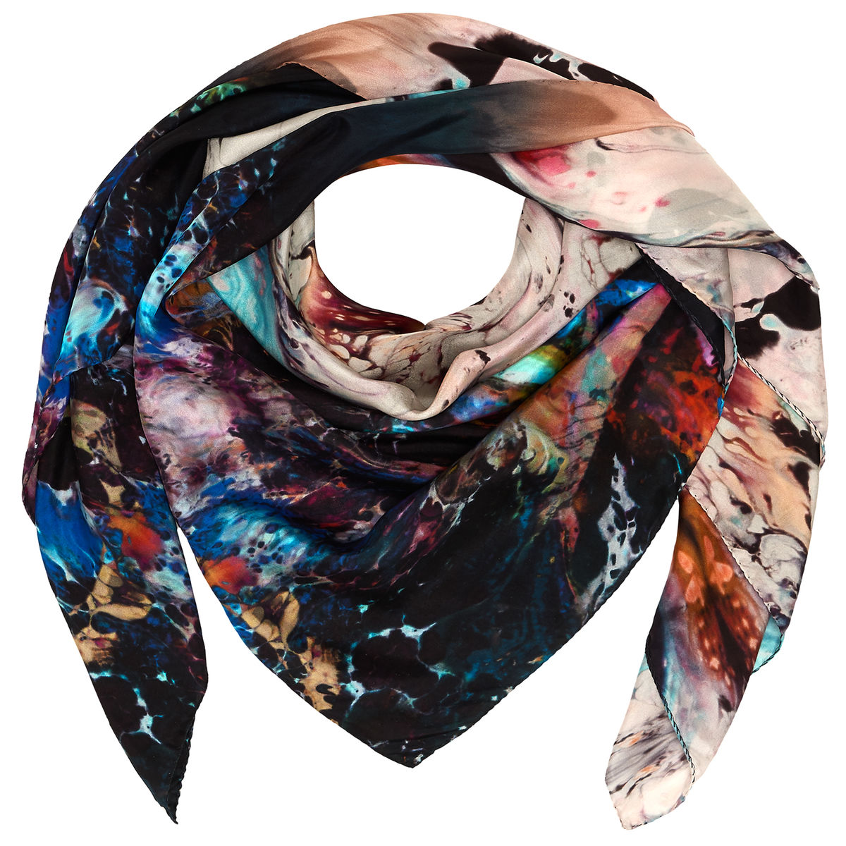 ORBIT SQUARE SCARF - product images  of