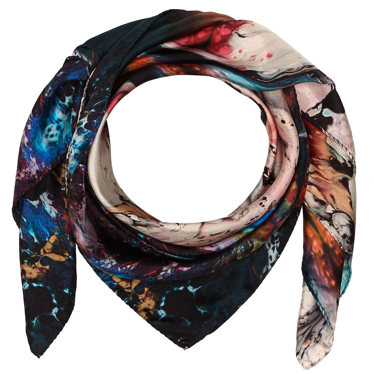 ORBIT MEDIUM SQUARE SCARF - product images  of