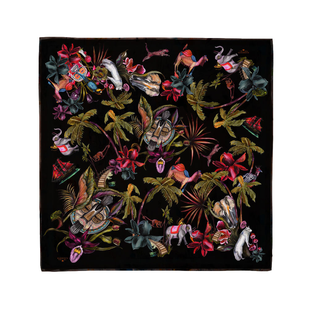 SAVAGES MEDIUM SQUARE SCARF  - product images  of