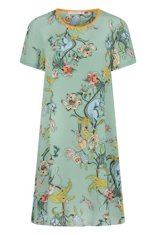 FRIEDA,DRESS,IN,KANGAROO,PRINT,KANGAROO SHIFT DRESS