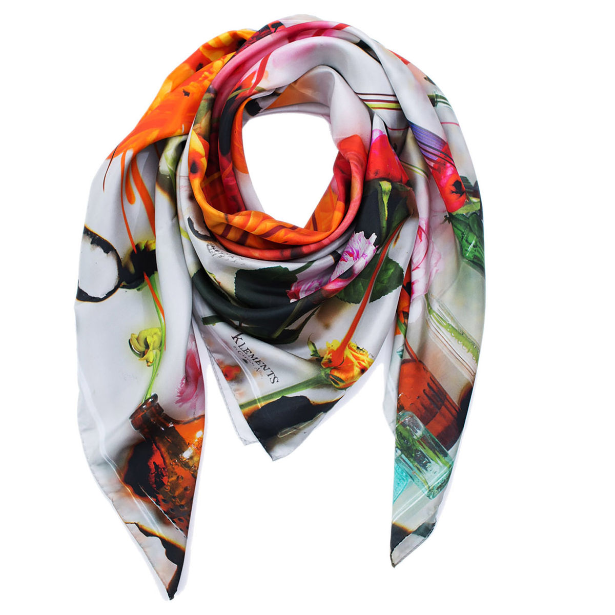 BLEEDING MAY LARGE SQUARE SCARF - product images  of